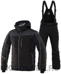 Элитный горнолыжный костюм 8848 Altitude Terbium Venture Black мужской