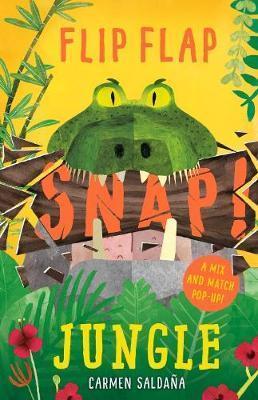 Kitab Flip Flap Snap: Jungle   Joanna McInerney