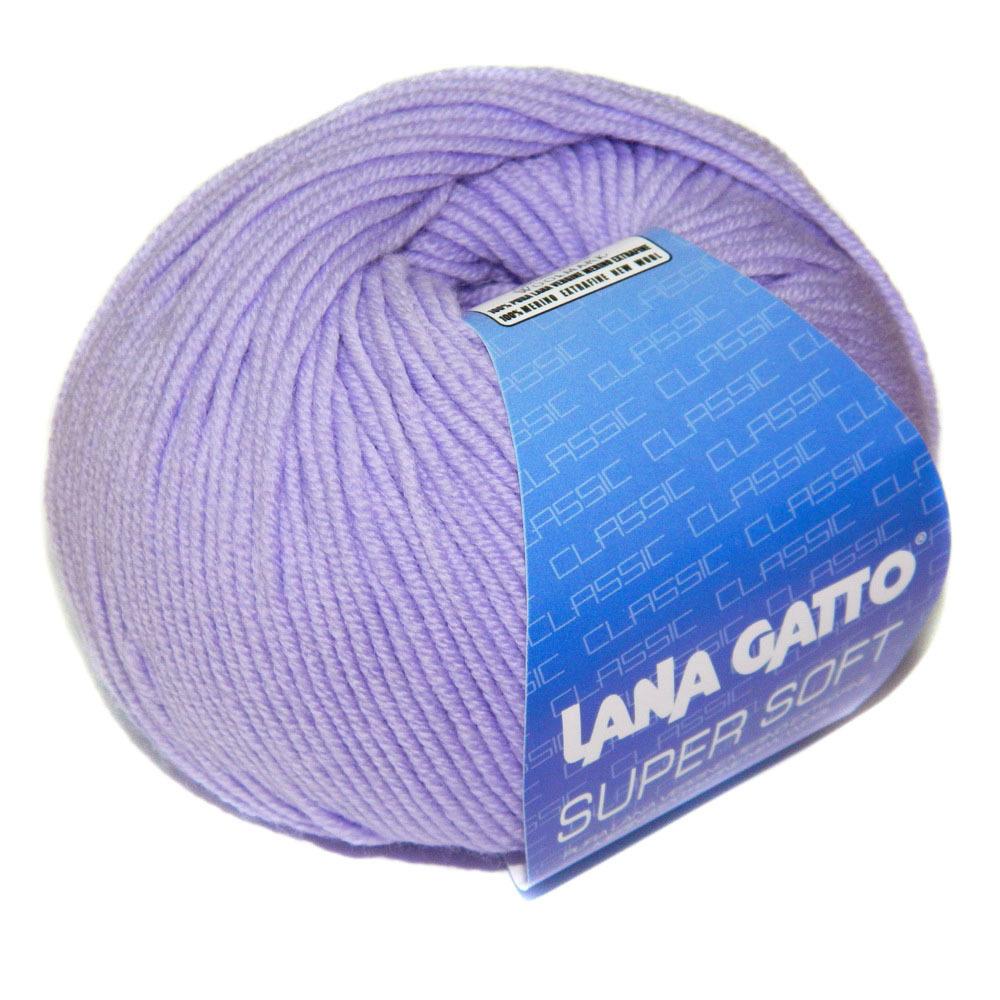 Пряжа Lana Gatto Supersoft 10180 сирень