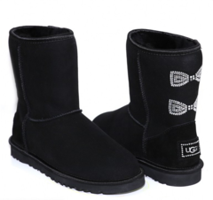 /collection/ClassicShort/product/ugg-classic-short-crystal-bow-black