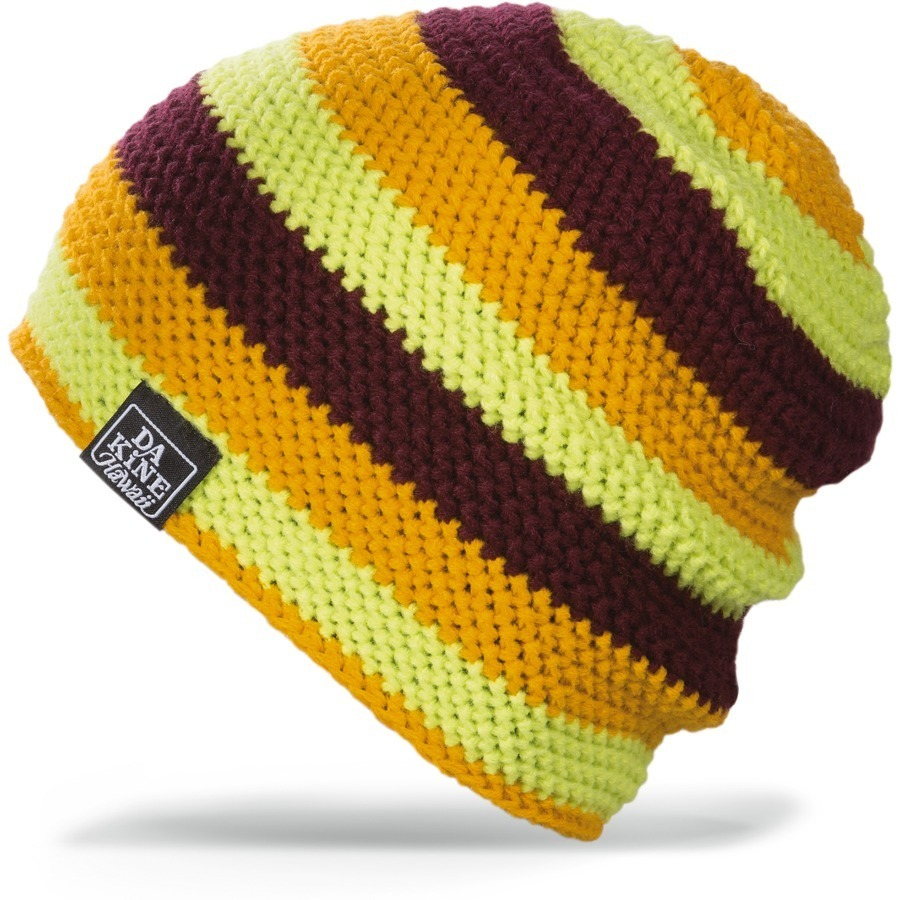 Длинные шапки Шапка-бини вязаная Dakine Waldo Hlv Hot Lime / Harvest 64.jpg