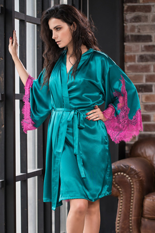 Халат Bella 3373 Emerald Mia-Amore