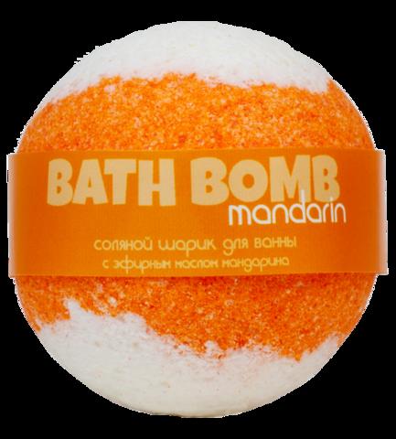 Бурлящий шарик для ванны Мандарин | Savonry