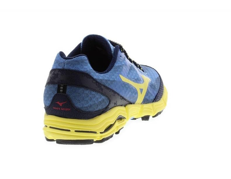 Женские кроссовки для бега Mizuno Wave MUJIN (J1GK1470 44) синие фото