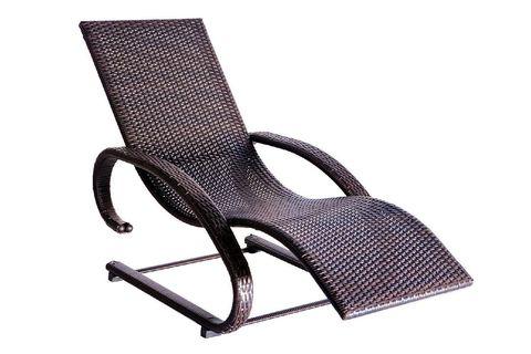Кресло-шезлонг «Ларго» из ротанга