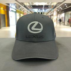 Кепка Лексус серая (Бейсболка Lexus)