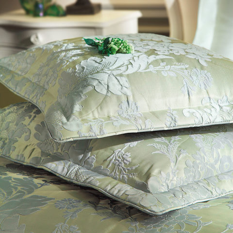 Покрывало CHARLOTTE  зеленый  260х260  TIVOLYO HOME Турция