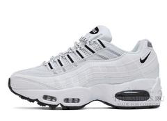Кроссовки Женские Nike Air Max 95 White Black