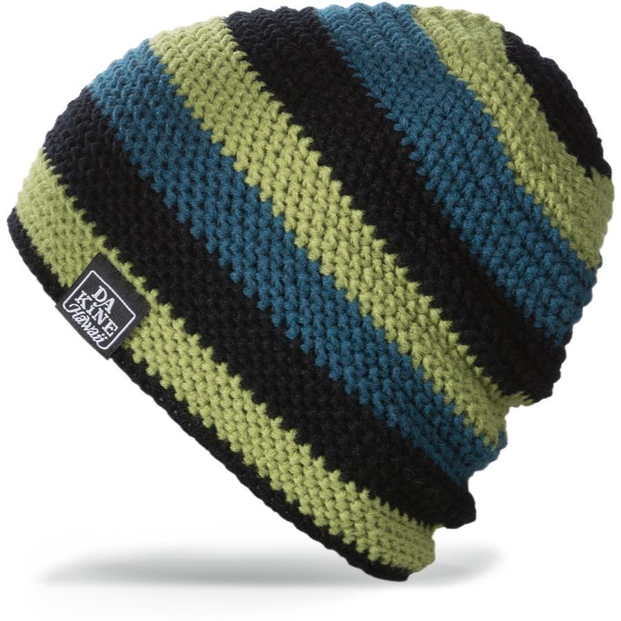 Длинные шапки Шапка-бини вязаная Dakine Waldo Oms Ocean / Moss 65.jpg