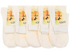 1c132 носки женские, бежевые (5 шт)