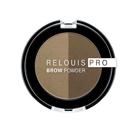 Relouis Pro Тени для бровей Brow Powder тон 01 Blonde