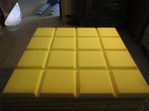 Акустический поролон Echoton Grid желтый - 2 шт.