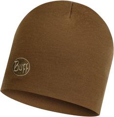 Теплая шерстяная шапка Buff Hat Wool Heavyweight Solid Tundra Khaki