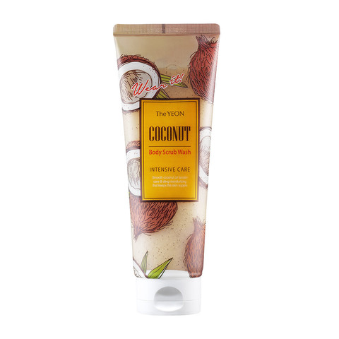 THE YEON Coconut Скраб для тела с маслом кокоса TheYEON Coconut Body Scrub Wash [Intensive Care] 250мл