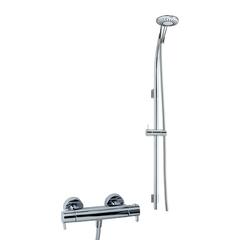 Душевая система с термостатом и тропическим душем для ванны DRAKO 339502MS