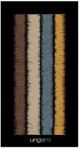 Полотенце 95х175 Emanuel Ungaro Wood синее