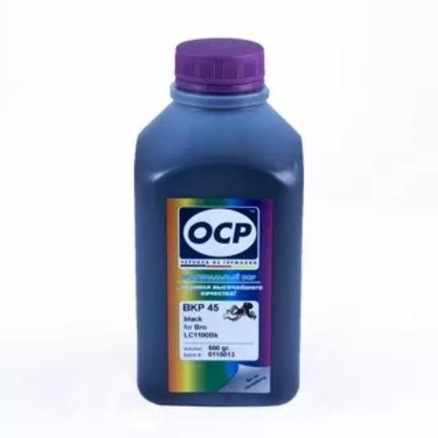 Чернила OCP BKP45 Black для Brother LC1000BK, LC1100BK, LC980BK, LC970BK, 500 мл