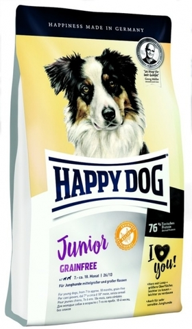 Корм Happy Dog Junior Grainfree 10 кг