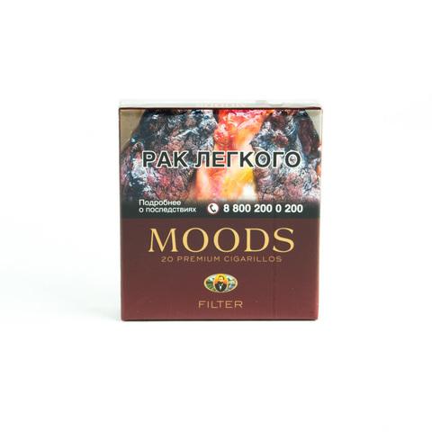 Сигариллы Moods Filter 20 шт