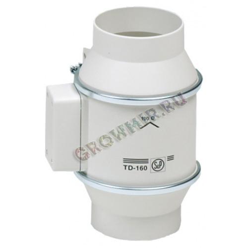 (Soler & Palau) Вентилятор канальный TD 160/100 T Silent