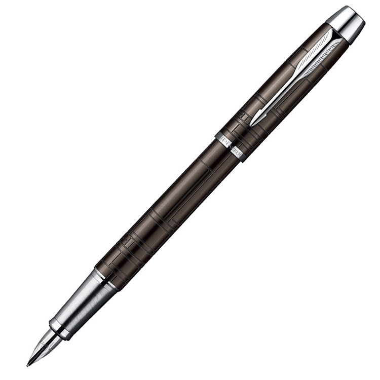 Parker IM Premium - Metallic Brown CT, перьевая ручка, F
