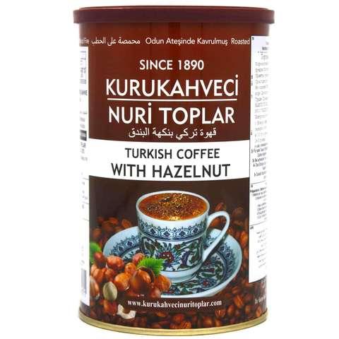 Турецкий кофе молотый с орехом, Nuri Toplar Turkish, 250 г