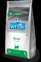 Ветеринарный корм для кошек FARMINA Vet Life RENAL при почечной или сердечной недостаточности