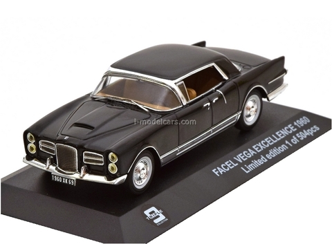 Facel Vega Excellence 1960 black Triple9 1:43