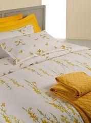 Постельное белье 2 спальное евро макси Mirabello Ginestre белое