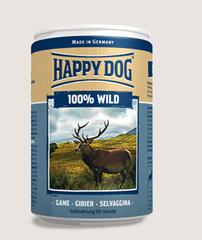 Консервы для собак Happy Dog 100% Дичь