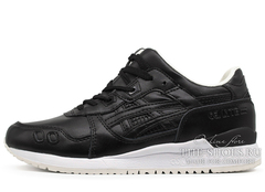 Кроссовки Мужские Asics Gel LYTE III Black Leather White