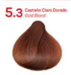 5.3 золотистый шатен. Краситель для волос с эффектом лифтинга KV-1