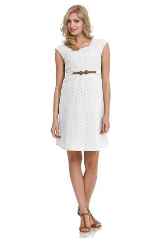 Платье для беременных 05666 белый