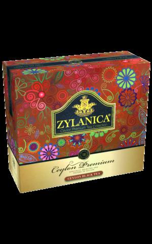 ЧАЙ ZYLANICA чёрный в пакетиках Ceylon Premium Collection , 100 шт