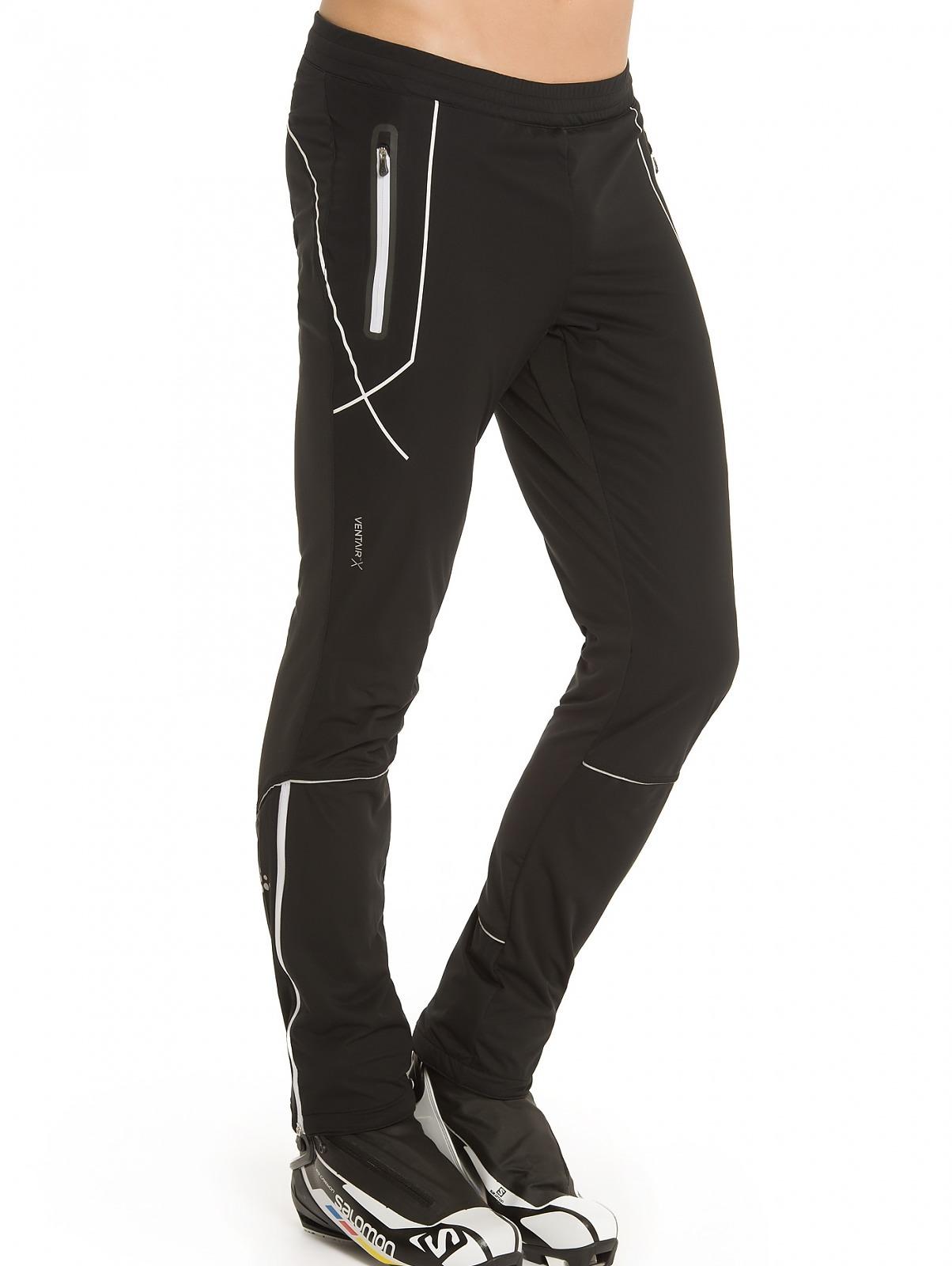 Элитный тренировочный костюм для беговых лыж Craft High Function черный