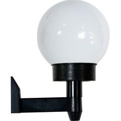 Светильник на солнечной батарее настенный «Шар» 2 белыx LED, 1 X NiCD батарея, PL248 (Feron)