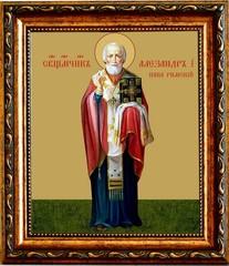 Александр I, папа Римский, Священномученик. Икона на холсте.