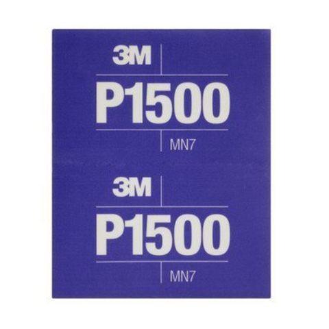 3М Лист абразивный гибкий Р1500 34343