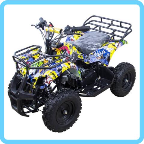 Детский бензиновый квадроцикл ATV Classic mini (ручной стартер)