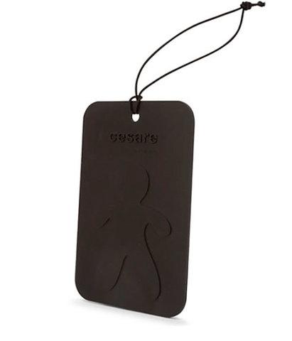 Аромакарточка для автомобиля и гардеробной Cesare Кедр (черный), Mr&Mrs Fragrance