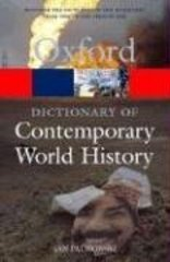 Oxf Dict Of Contemporary World History 2Ed