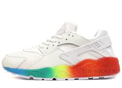 Кроссовки Женские Nike Air Huarache White Rainbow
