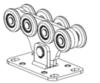 Опора роликовая Alutech SGN.02.150(Беларусь) до 700 кг