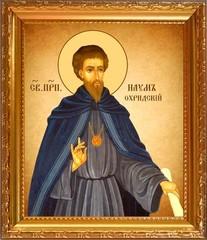 Наум Охридский Равноапостольный. Икона на холсте.