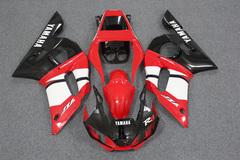 Комплект пластика для мотоцикла Yamaha YZF-R6 98-02 Красно-Черный