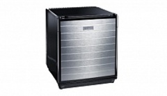 Минихолодильник Dometic miniCool DS300ALU, 28 л, цв. черный, с-ма Fuzzy Logic, дверь прав. декор. аллюминий, пит. 220В