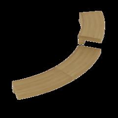 Монтажные элементы: Монтажный фланец SAWO TH-COLLAR-W4-CNR-D (для печи TOWER TH4, TH5, ARI3, PNX3 & DRFT3, угловой, кедр)