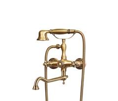 Смеситель для душа (излив 25 см) Bronze de Luxe 10319D