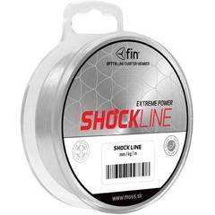 Снаг/Шок лидер моно FIN SHOCK LINE / 0.50mm / 33lb / 80m - Transparent