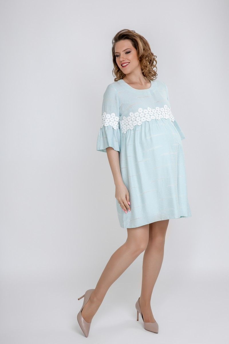 Платье 09587 ментол